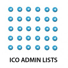 TARGETED LISTS FROM TELEGRAM ICO GROUPS (ADMINS)