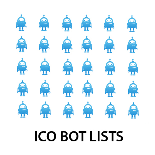 TARGETED LISTS FROM TELEGRAM ICO GROUPS (BOTS)